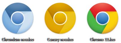 Chrome各版本新图标